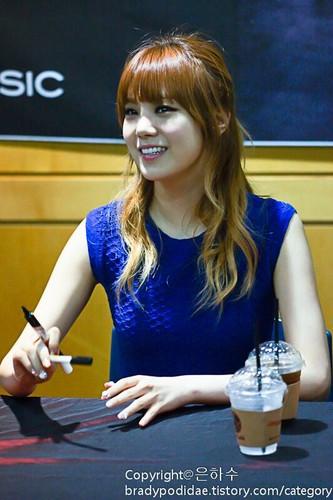 Lizzy (After School) - First tình yêu người hâm mộ Signing Event Pics