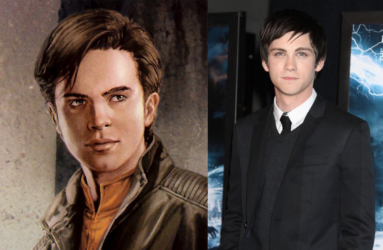 Logan Lerman as Anakin Solo