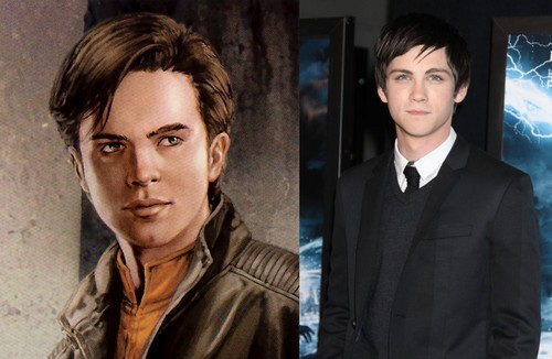 Logan Lerman as Anakin Solo
