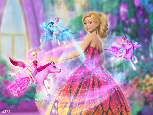 Barbie-Filme Hintergrund called Look what! I got official stills from the movie!