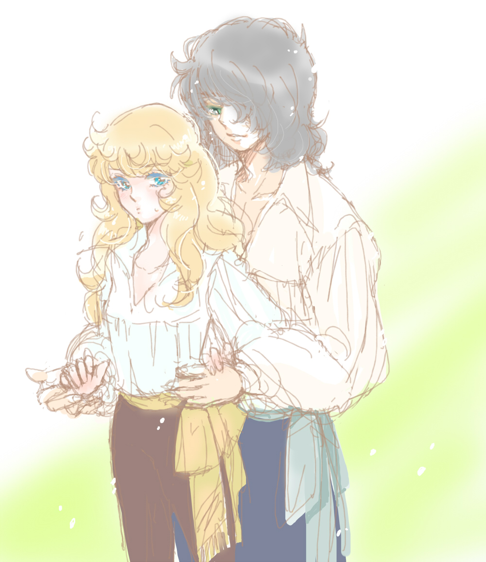 the rose of versailles ending relationship