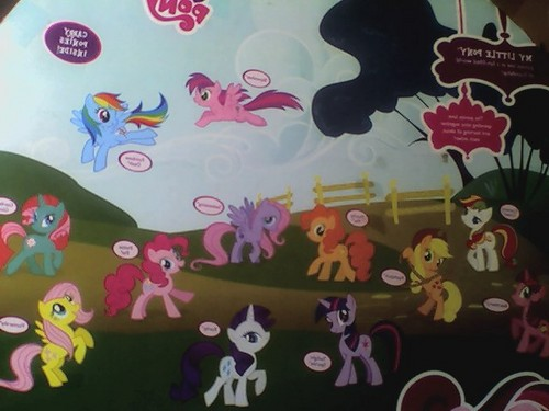MLP pony Collection Set Back