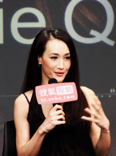 Maggie Q airborne Sohu awarded the শিরোনাম of Ambassador drama