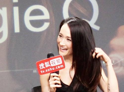 Maggie Q airborne Sohu awarded the titre of Ambassador drama