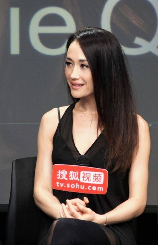 Maggie Q airborne Sohu awarded the titel of Ambassador drama