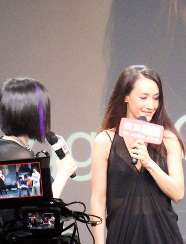 Maggie Q airborne Sohu awarded the title of Ambassador drama