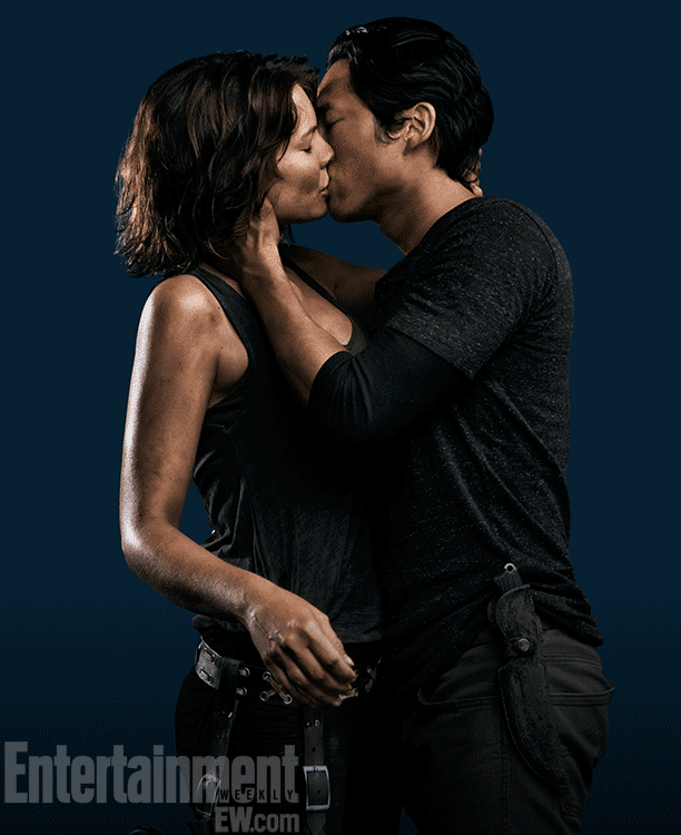 The walking dead maggie and glenn season 4 promo photo
