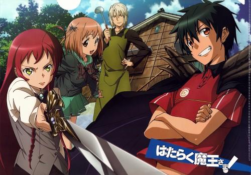 Maou, Ashiya, Emi and Chiho