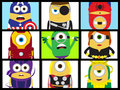 Marvel Minions - despicable-me-minions fan art