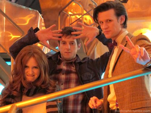 Matt, Kaz and Arthur! :D