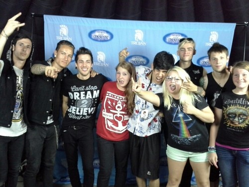 Me and Crown The Empire At Warped