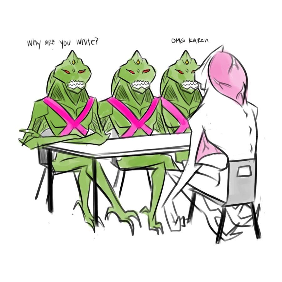 "Mean Girls ""Martian version"""
