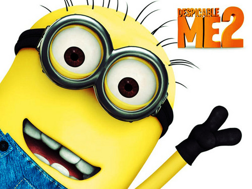 Despicable Me Minions wallpaper possibly with a vacuum and anime titled Minions