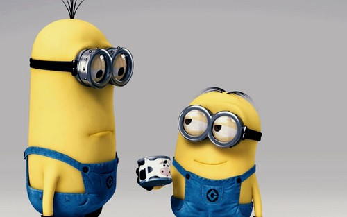 Despicable Me Minions wallpaper probably with a golf bag called Minions