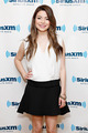 Miranda Cosgrove visits the SiriusXM Studios 2013