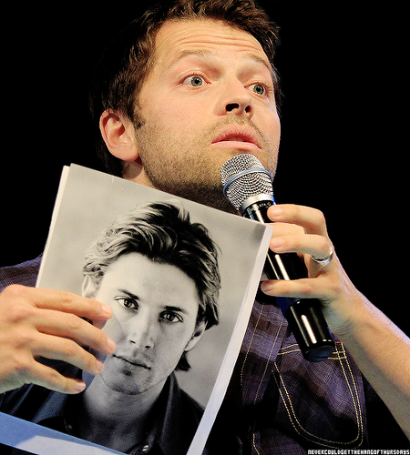 ackles and misha collins images misha with s