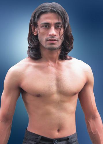 Model তারকা Rajkumar's Shirtless body