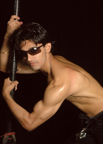 Model Star Rajkumar's Shirtless body
