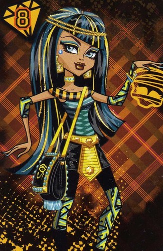 Monster High Cleo de Nile School's Out
