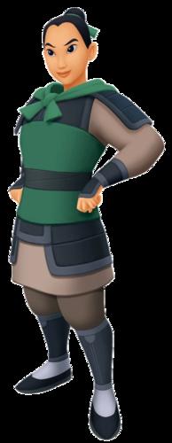 Mulan As Ping In Kingdom Hearts