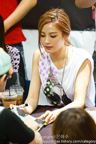 Nana (After School) - First Love fan Signing Event Pics