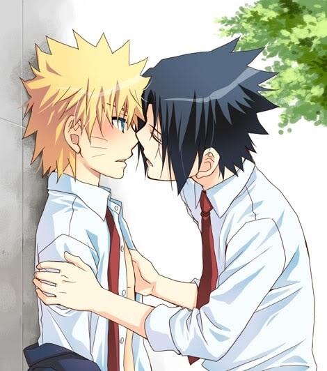 NARUTO -ナルト- and Sasuke (Naruto)