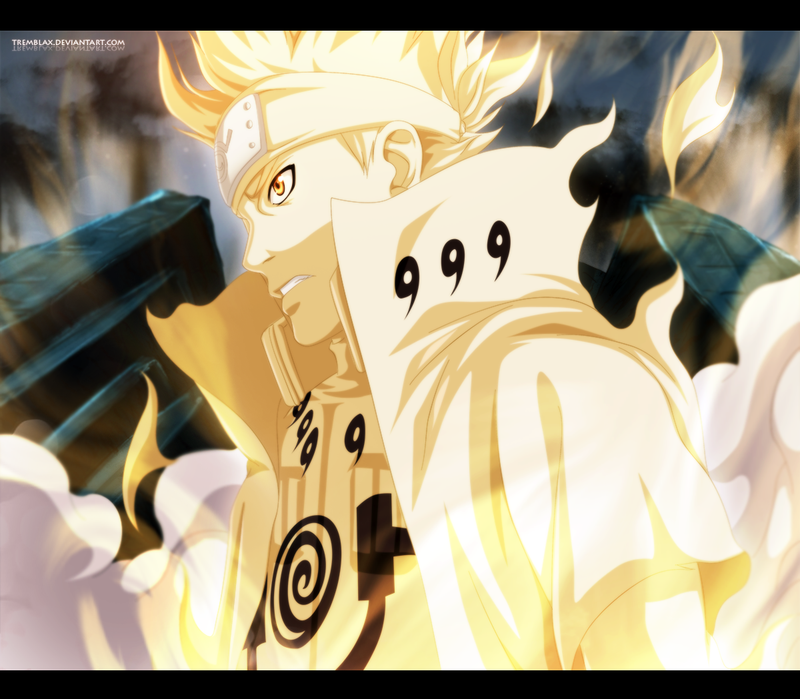 Naruto Bijuu Mode 7th Hokage Wallpaper