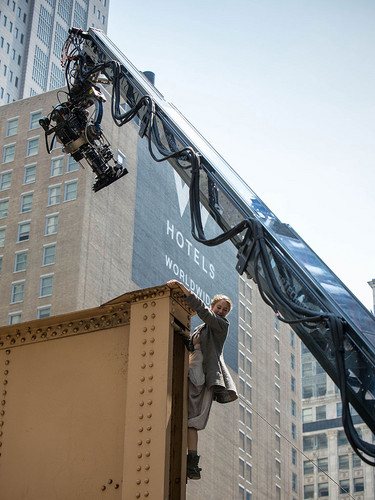 New Divergent Movie Stills + BTS foto