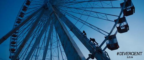 New 'Divergent' Still: The Ferris Wheel