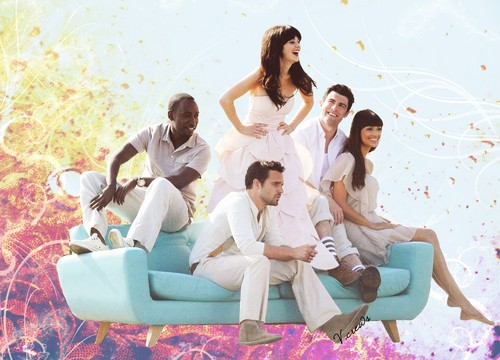 New Girl - wallpaper