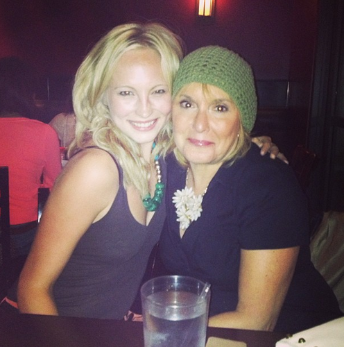 New Instagram foto - Candice with her Auntie