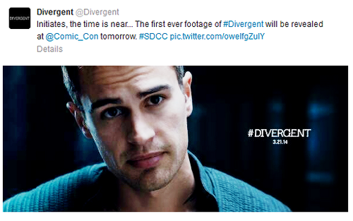 New image of Tobias [+ Tweet about Comic Con footage!]