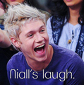 Niall's laugh