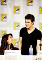 Nina and Paul at San Diego Comic Con 2013