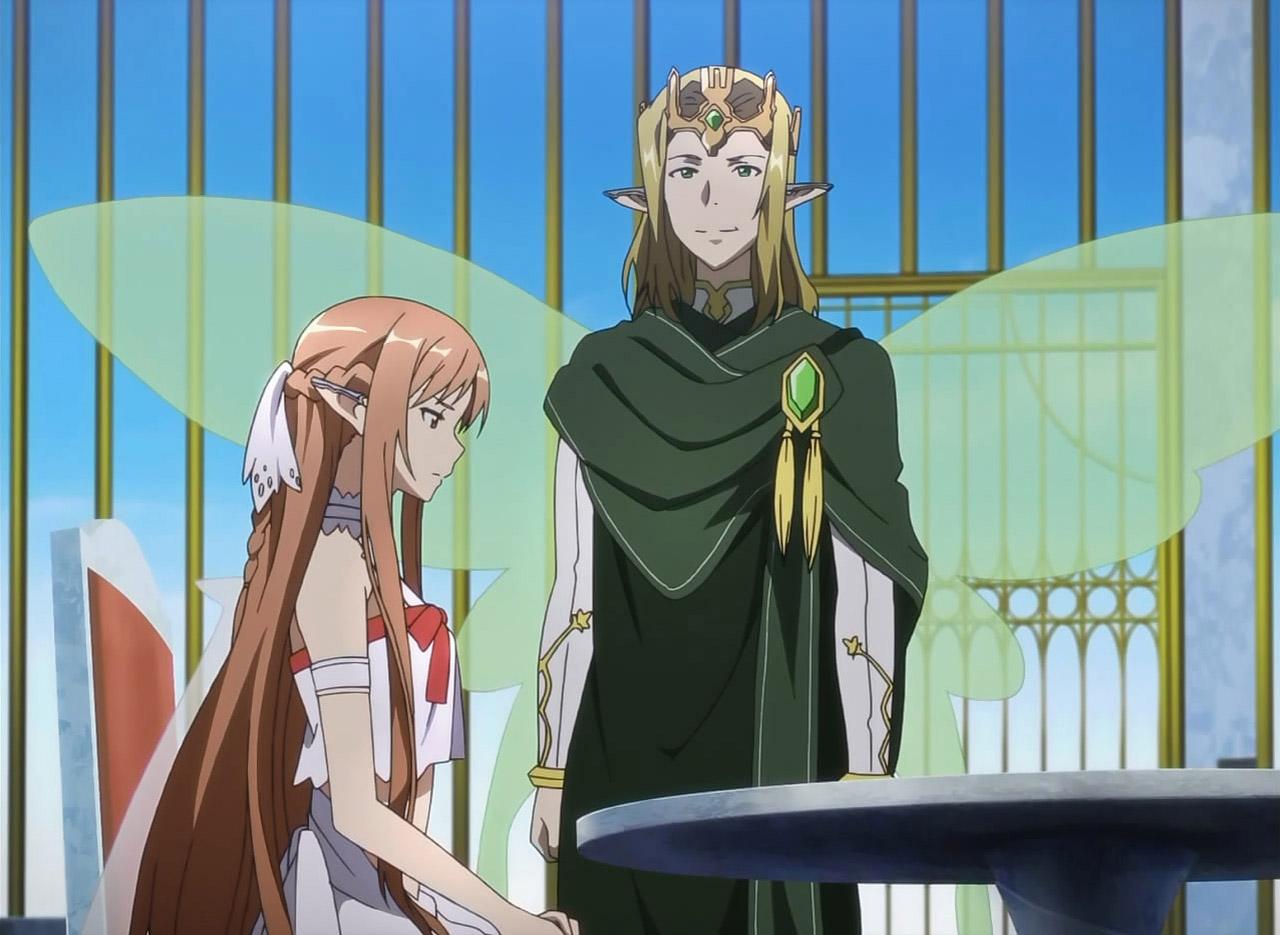Oberon (Sugou) and Asuna