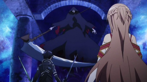 Sword Art Online wallpaper titled Oh my god! A grim reaper!