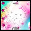 PINK jITTTY - hello-kitty fan art