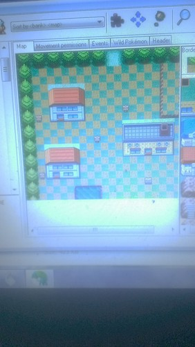 Pallet Town<««-»»>Green colina Zone