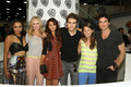 Paul at Comic Con 2013 Booth Signing - paul-wesley photo
