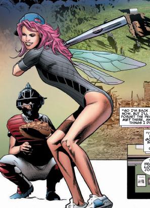 X-Men 壁纸 containing 日本动漫 entitled Pixie / Megan Gwynn
