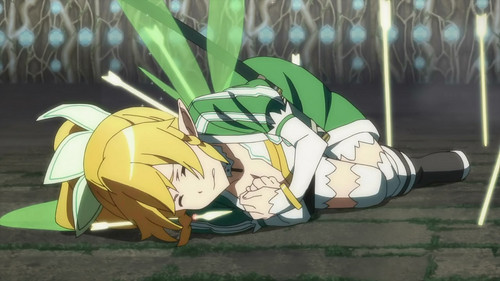 Sword Art Online wallpaper entitled Poor thing...