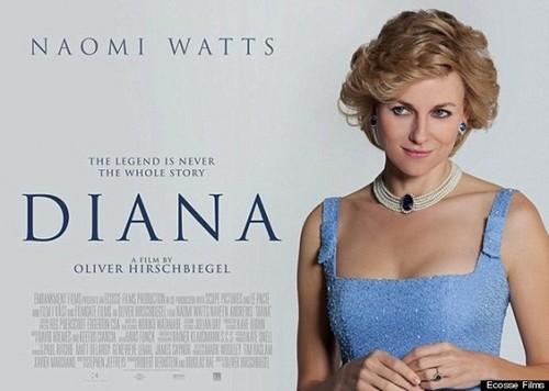 Poster of Naomi Watts As Princess Diana