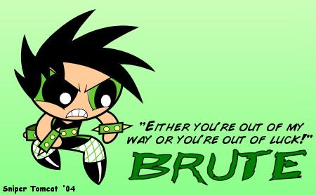 Powerpunk Girl Brute