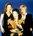Promo Ad For 1995 Interview With Journalist, Diane Sawyer - michael-jackson photo