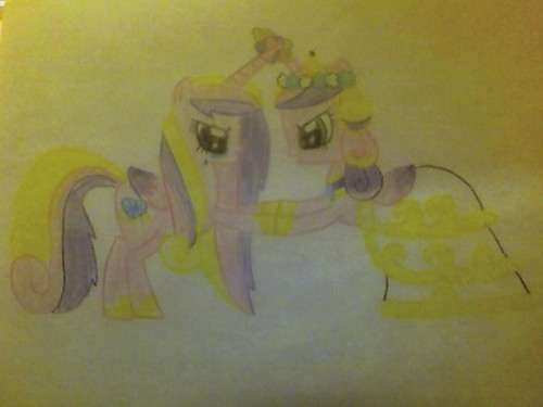 queen of Changelings and Cadence