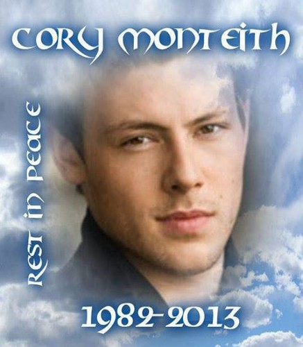 Cory Monteith fondo de pantalla with a portrait titled R.I.P