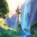 Rapunzel's Tower - princess-rapunzel-from-tangled icon