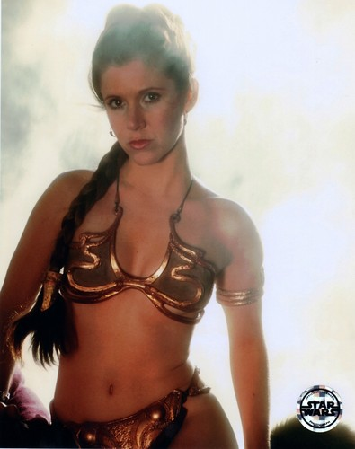 stella, stella, star Wars wallpaper called Rare Slave Leia immagini