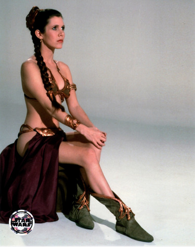Star Wars wallpaper titled Rare Slave Leia Images