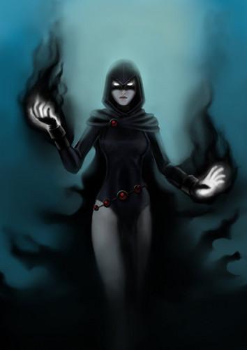 Teen Titans wallpaper called Raven
